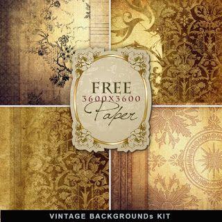 papier scrapbooking vintage gratuit
