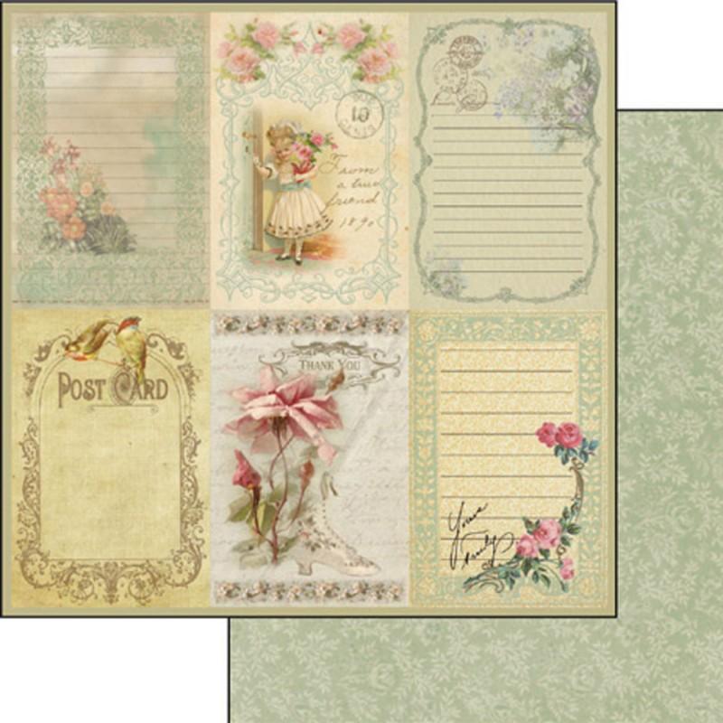 papier scrapbooking vintage