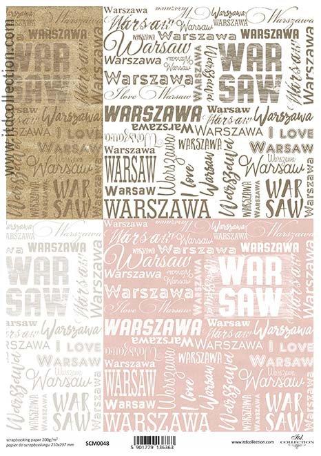 papier scrapbooking warszawa