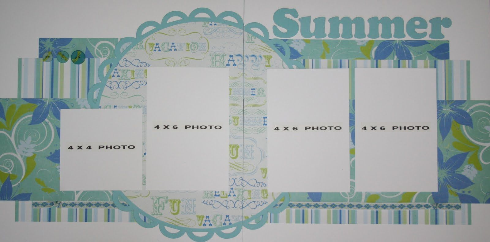 scrapbooking 2 page layout ideas