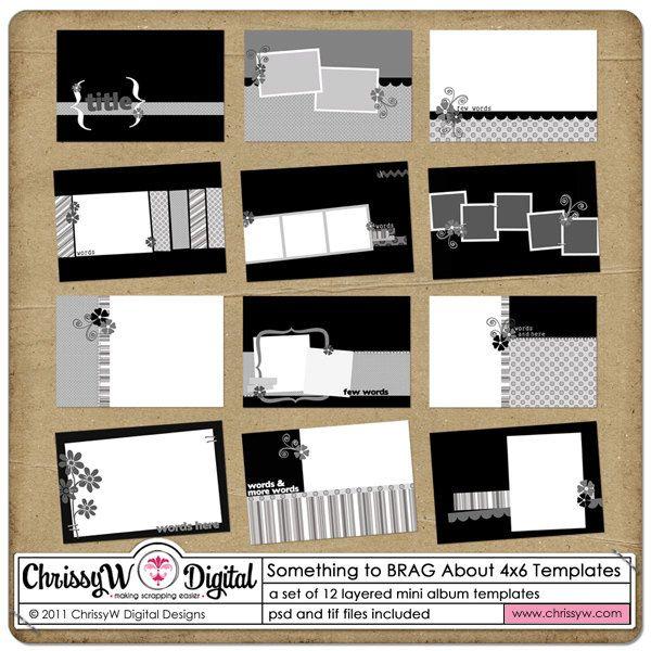 scrapbooking 4x6 photos