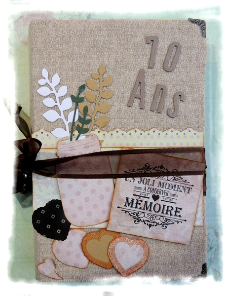 scrapbooking 70 ans