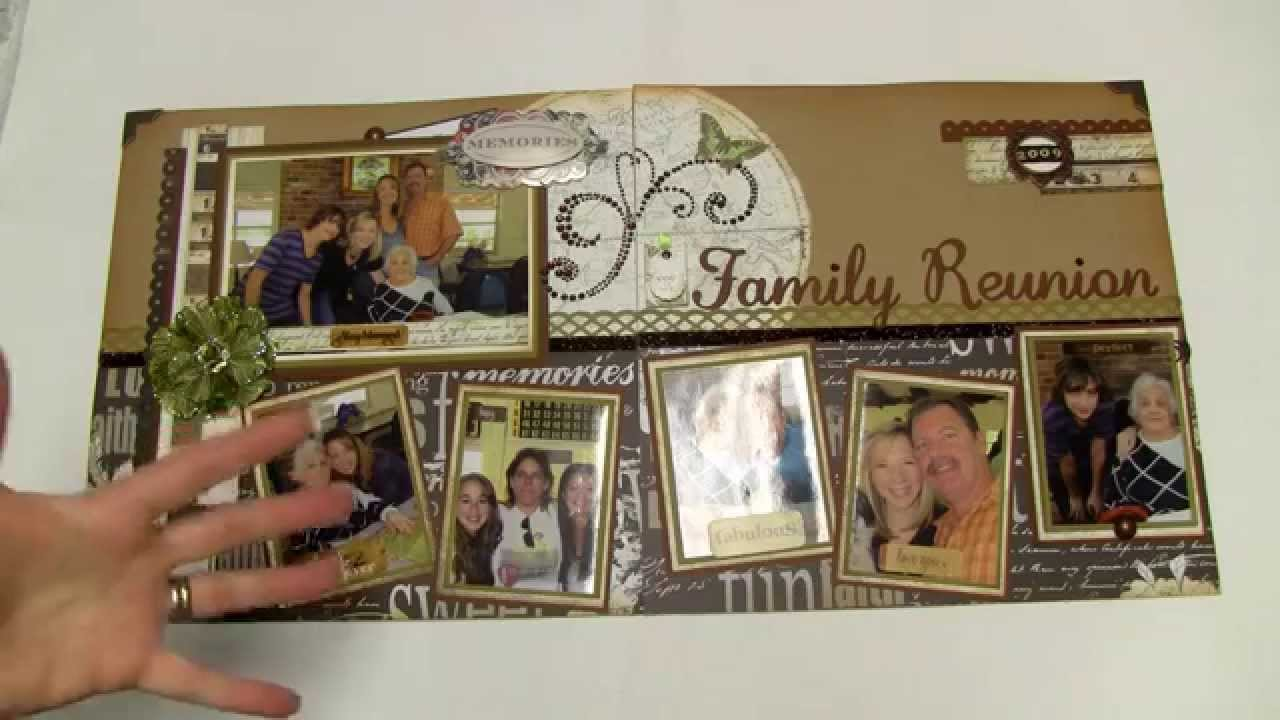 scrapbooking 8 photos