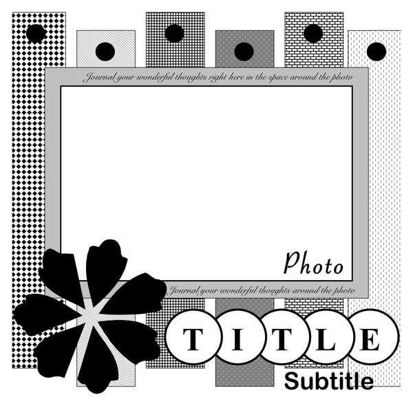 scrapbooking 8x10 photos