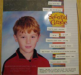 scrapbooking 8x10 school photos
