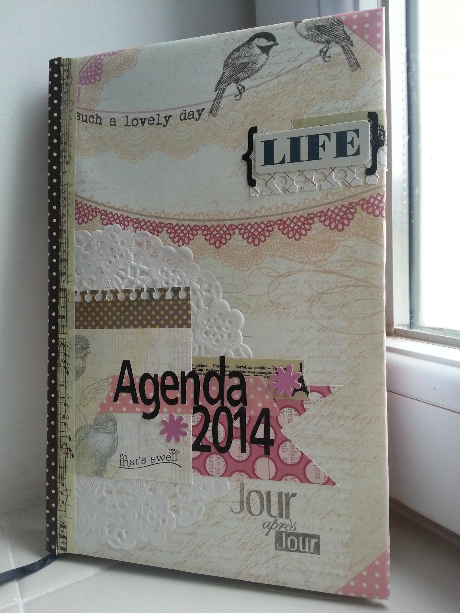 scrapbooking agenda