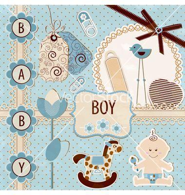 scrapbooking baby boy