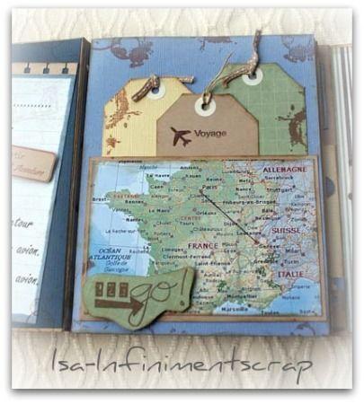 scrapbooking carnet de voyage