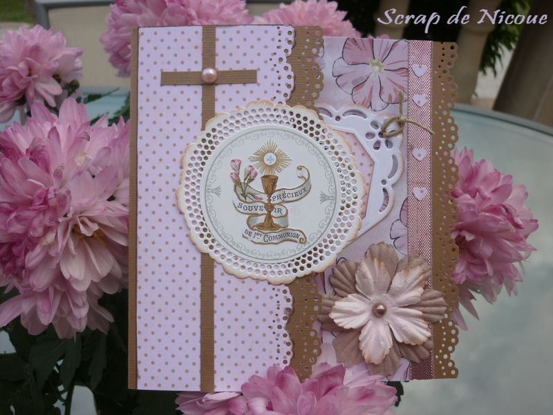 scrapbooking communion
