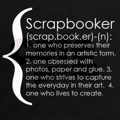 scrapbooking definition