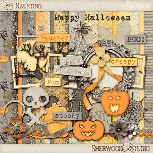 scrapbooking halloween