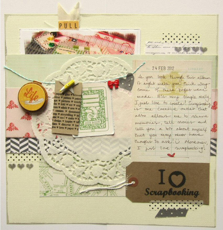 scrapbooking how to do it