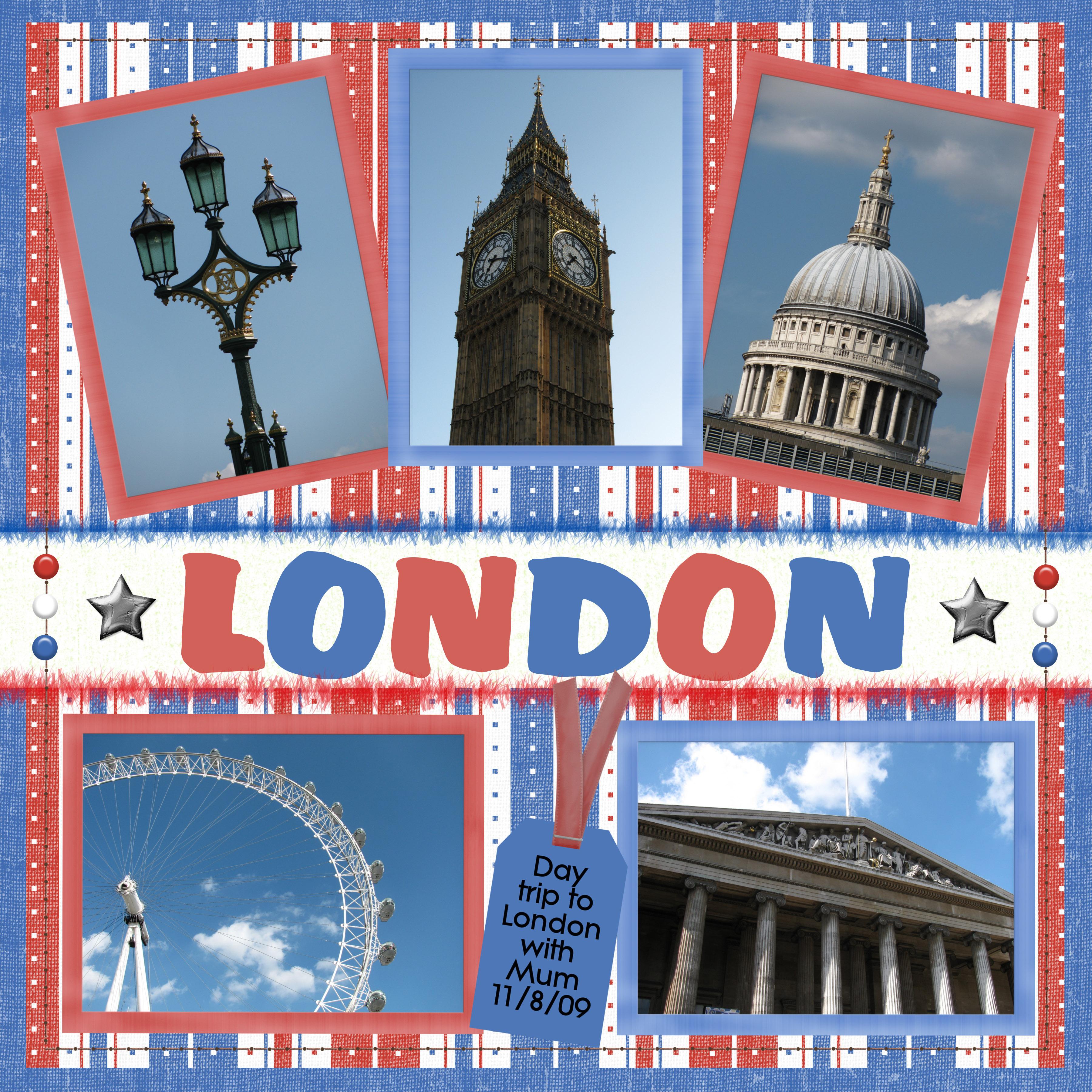Scrapbooking I London