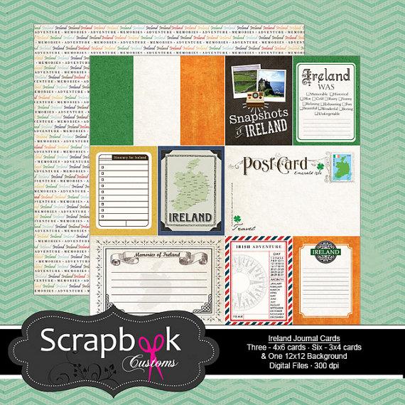scrapbooking irlande