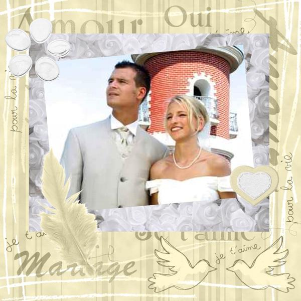 scrapbooking mariage exemple