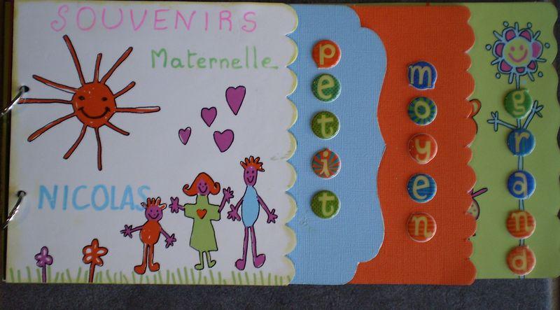 scrapbooking maternelle
