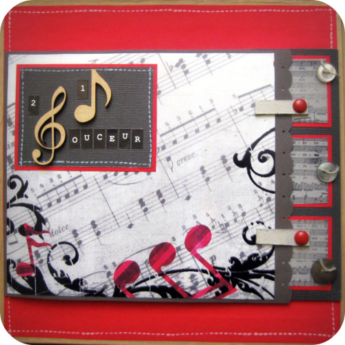 scrapbooking musique
