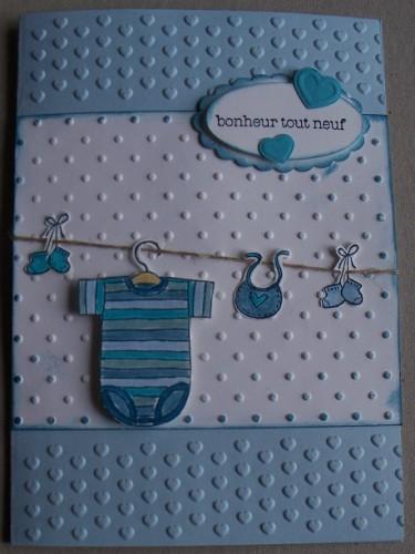 scrapbooking naissance garcon