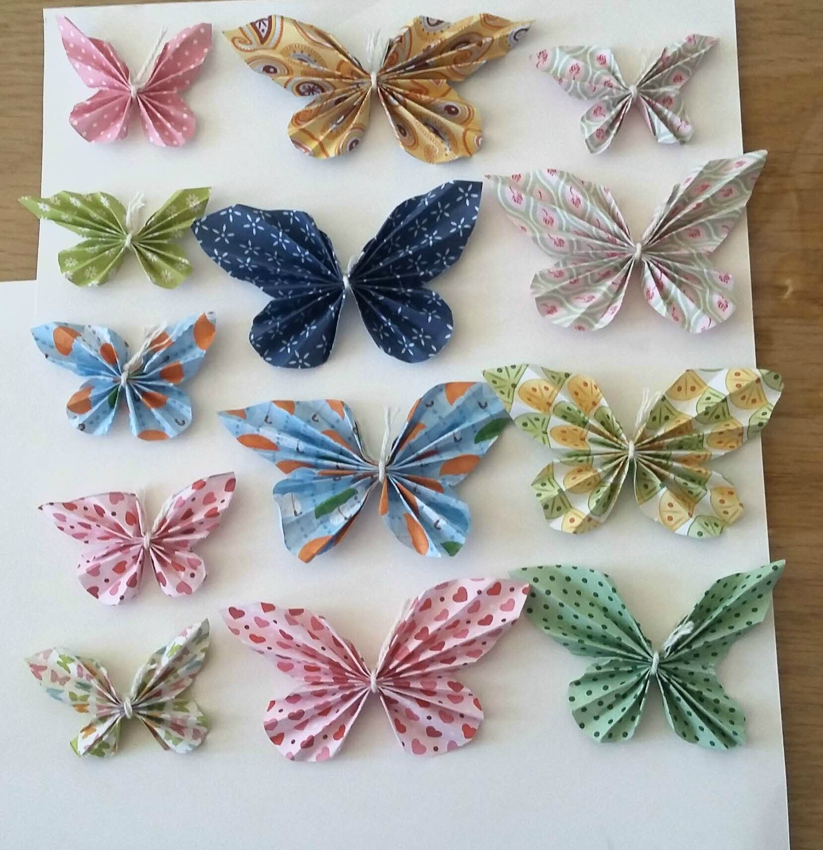 scrapbooking papillon