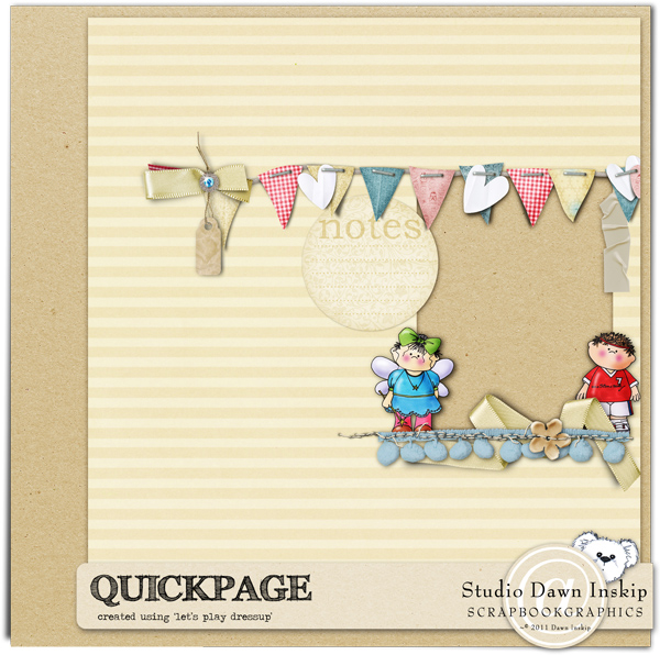 scrapbooking quick pages