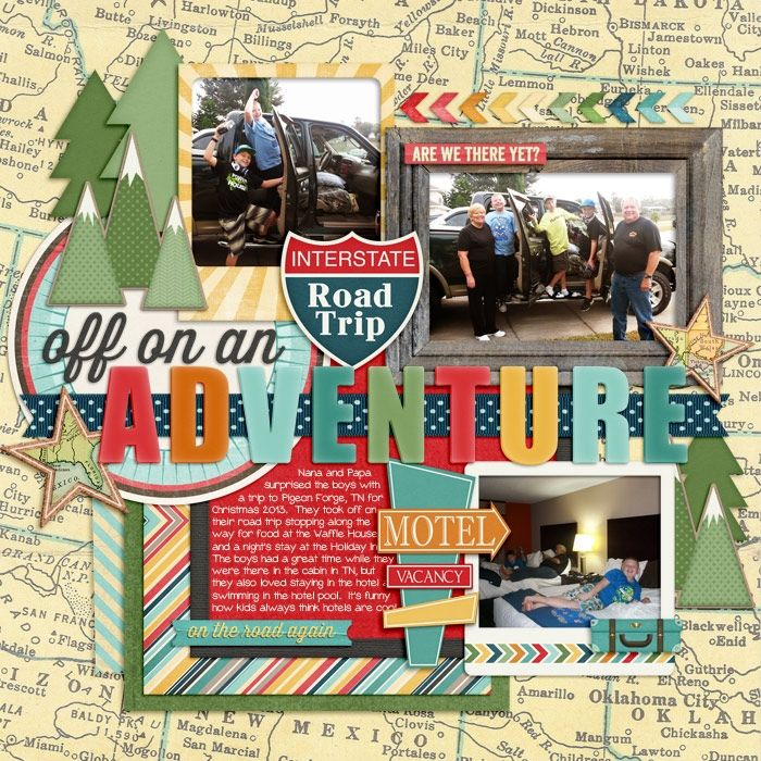Us Road Trip Ideas: Scrapbooking Road Trip