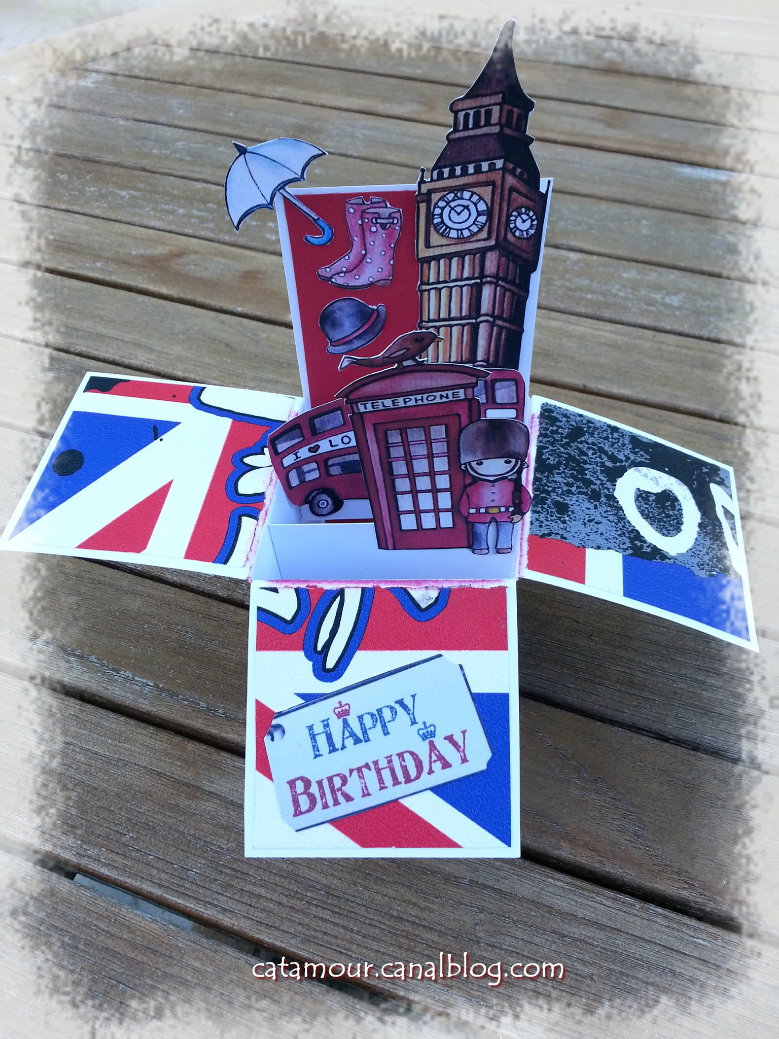 scrapbooking theme londres