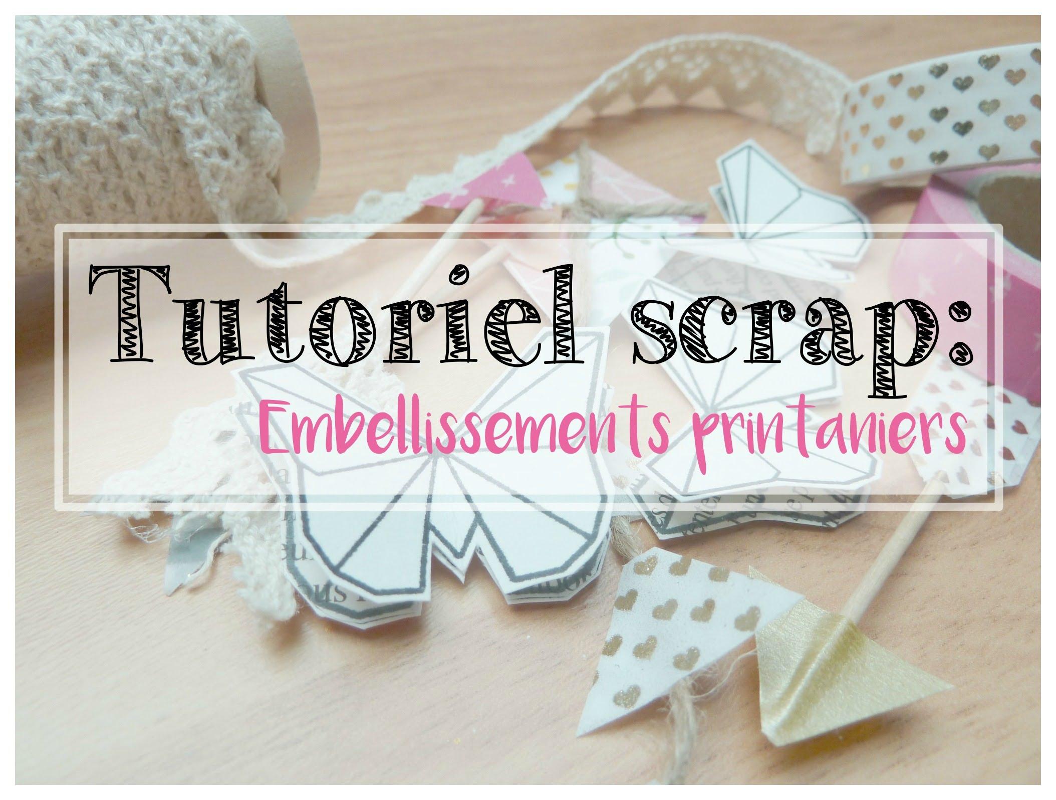 scrapbooking tutoriel
