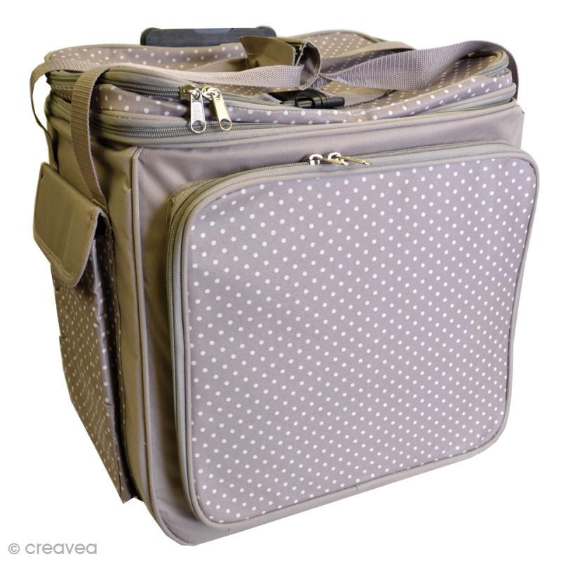 scrapbooking valise