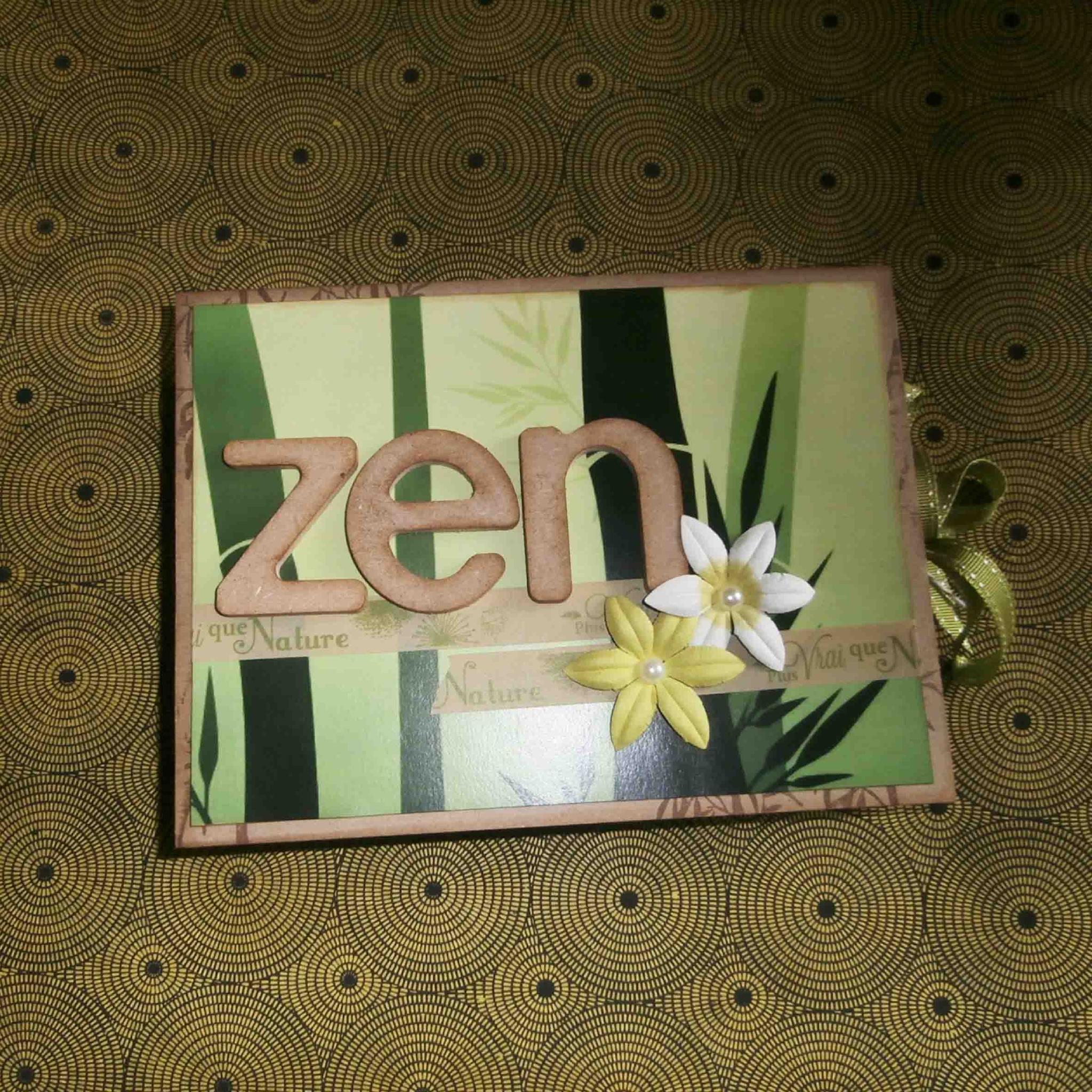 scrapbooking zen