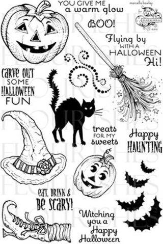 tampon scrapbooking halloween