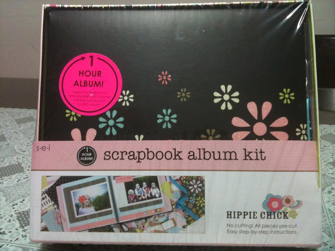 album scrapbooking 8x8