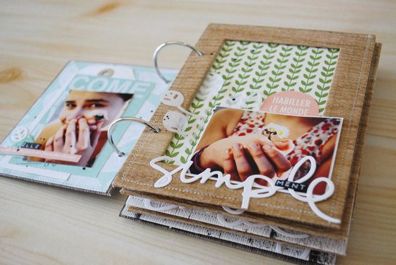 album scrapbooking diy