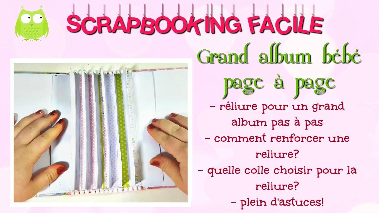 album scrapbooking grand format