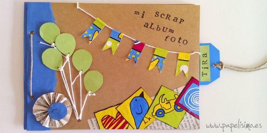 album scrapbooking infantil