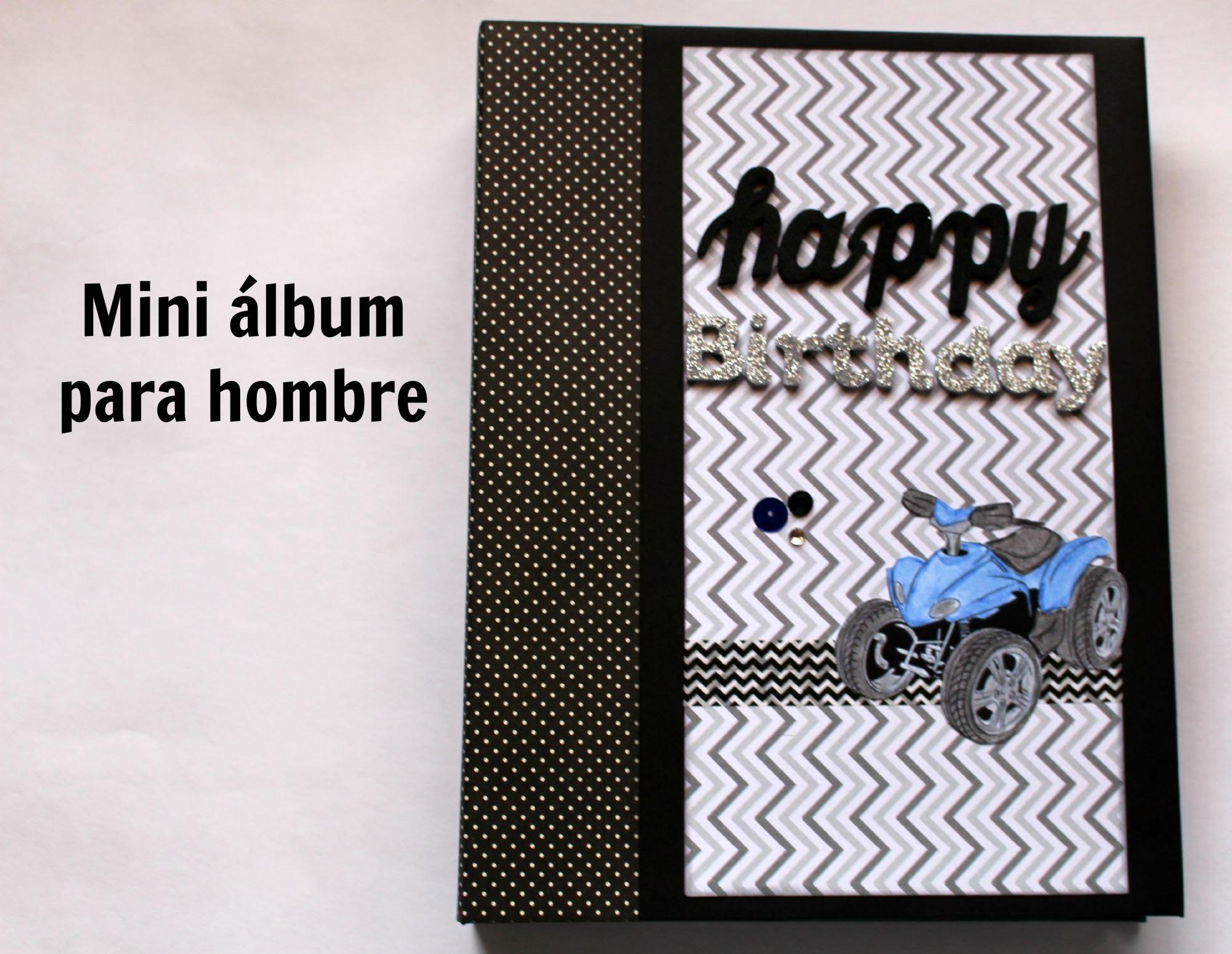 album scrapbooking para chico
