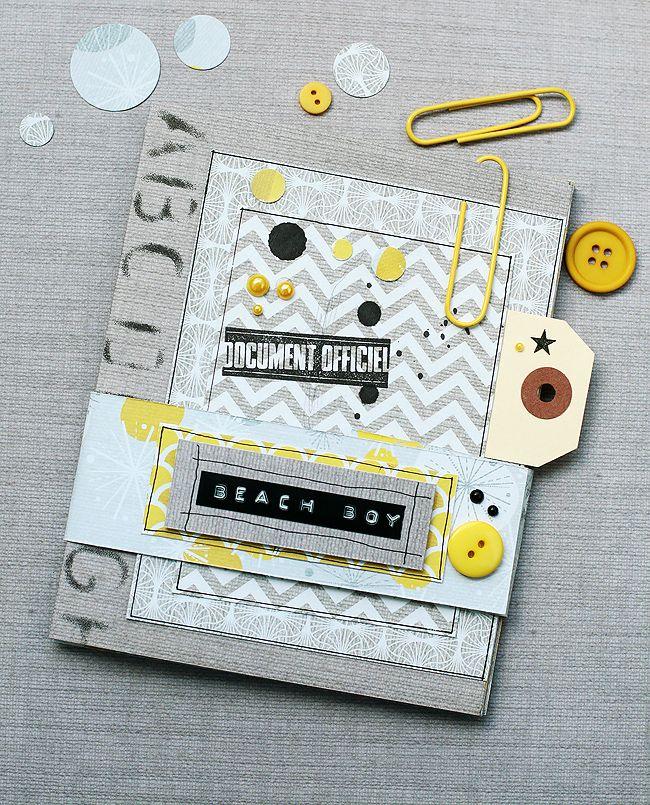 album scrapbooking pour homme