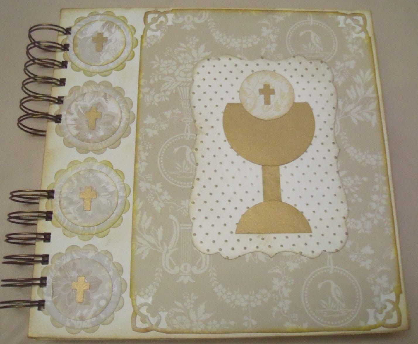 album scrapbooking primera comunion