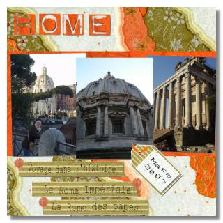 album scrapbooking rome
