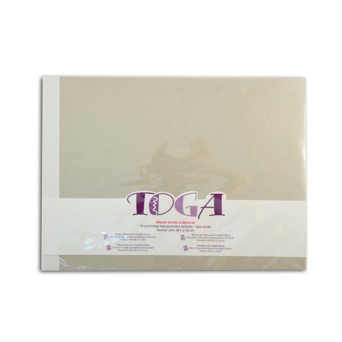 album scrapbooking toga