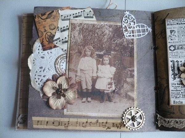 album scrapbooking vintage