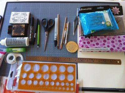 materiel scrapbooking indispensable