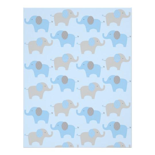 papier scrapbooking elephant