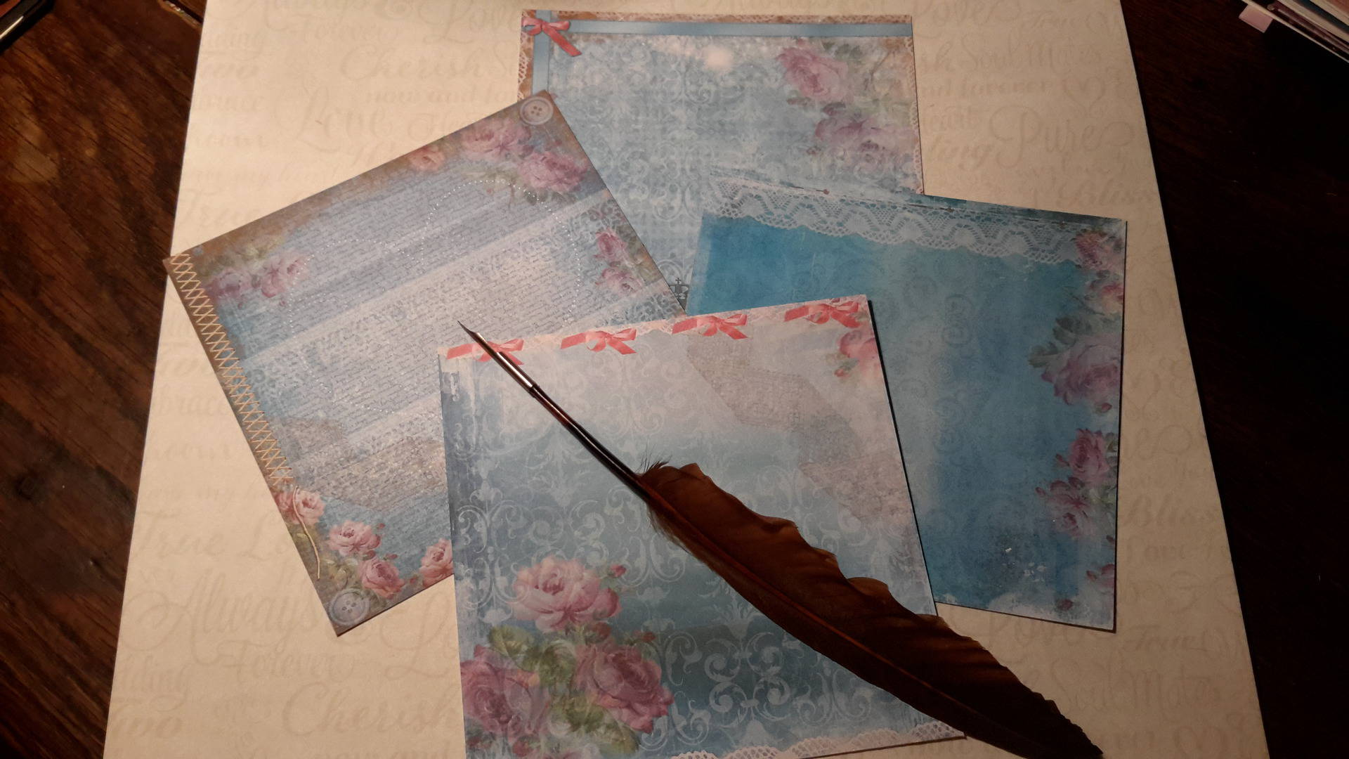 papier scrapbooking epais