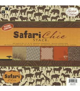 papier scrapbooking safari