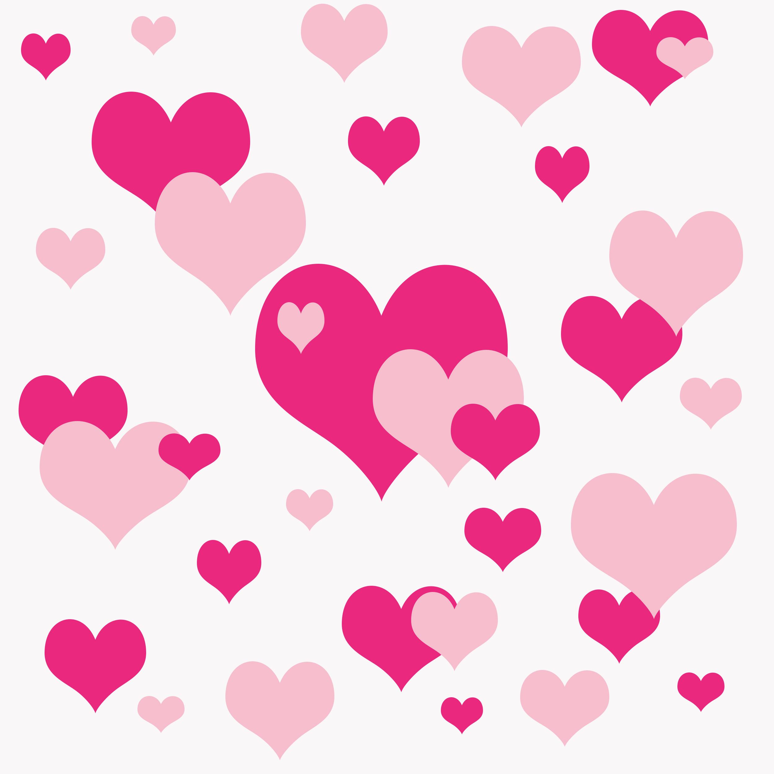 papier scrapbooking st valentin