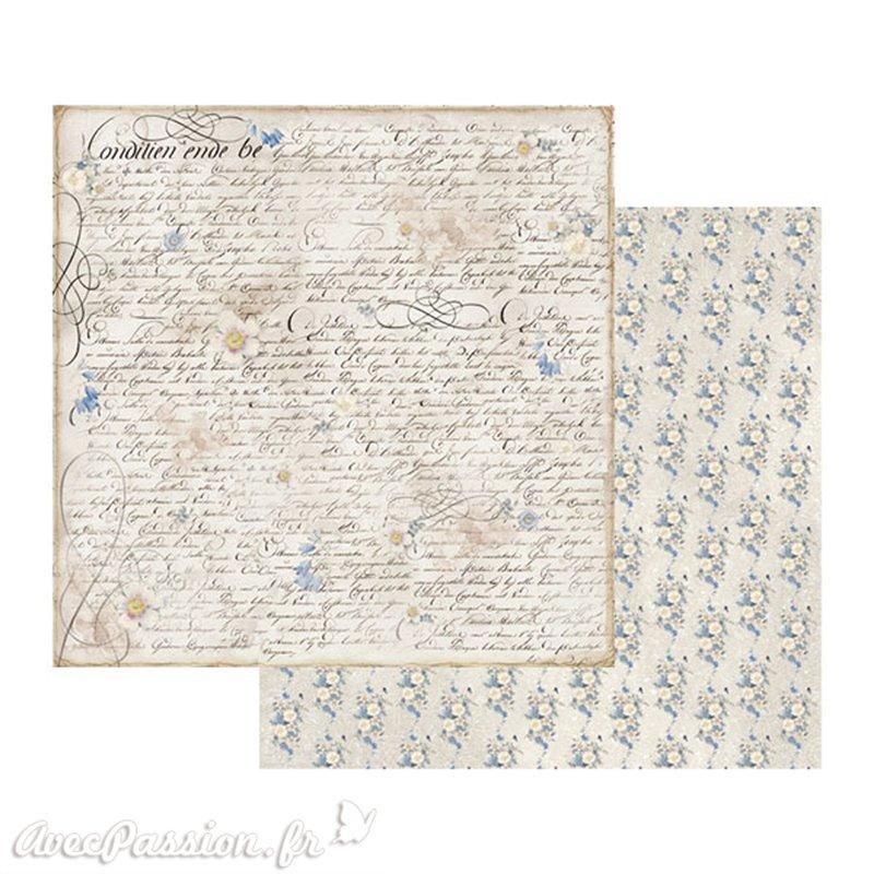 papier scrapbooking theme mer