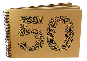 scrapbooking 50th birthday ideas