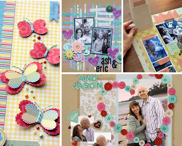 scrapbooking and craft