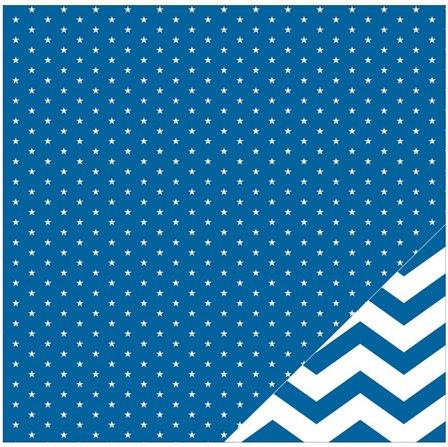 scrapbooking bleu