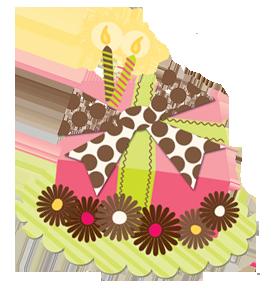 scrapbooking gateau anniversaire